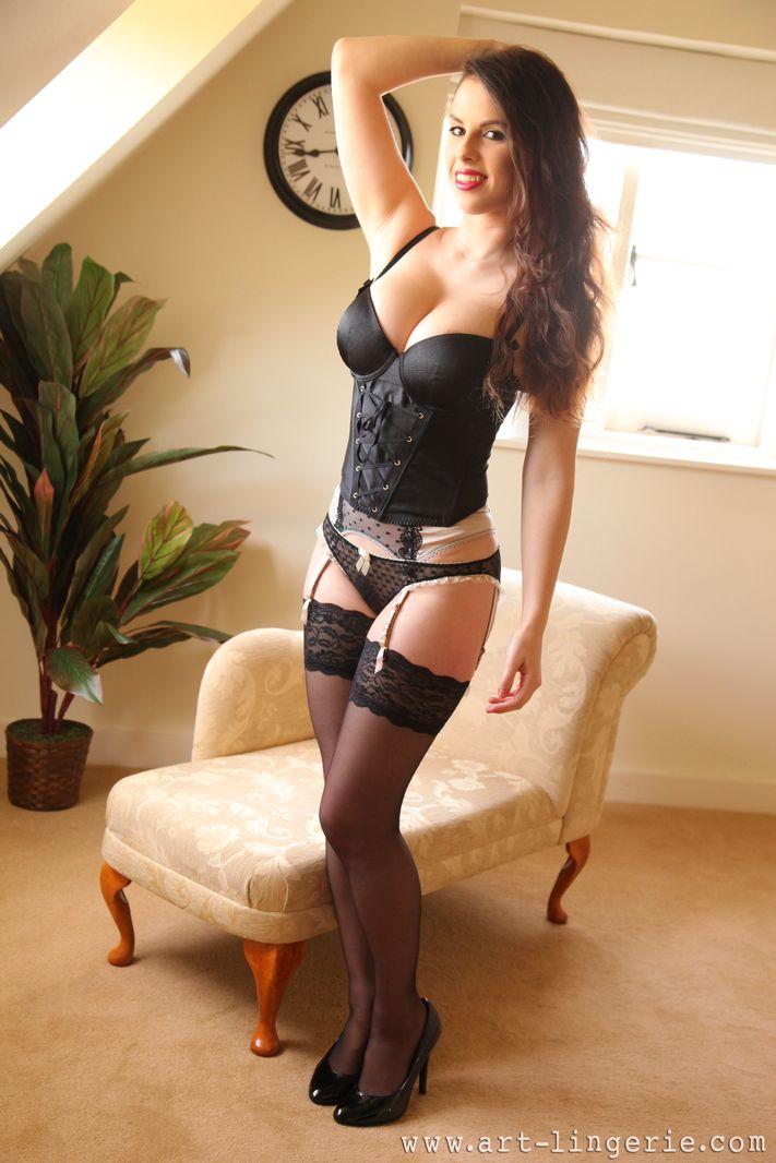 Sexy suspenders porn